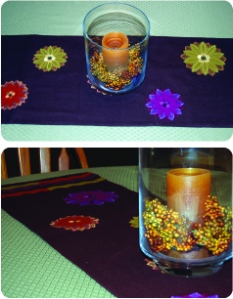 Fall Decor - table