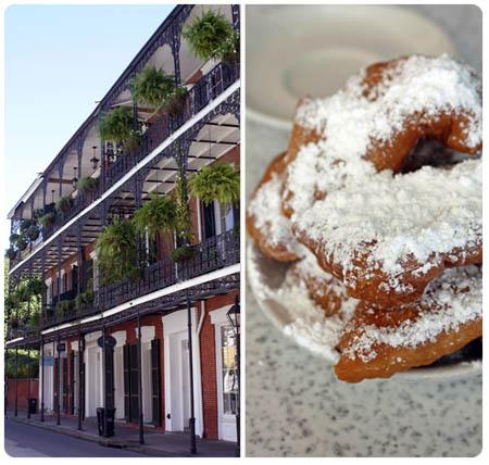 New Orleans Cafe du Monde beignets