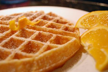 Sweet Potato Waffles |