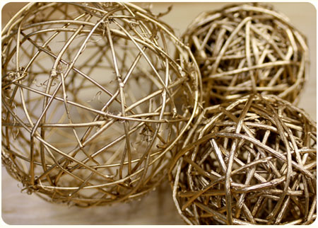 Diy Decor Balls Simple Diy Winter Decor Inspiration Design