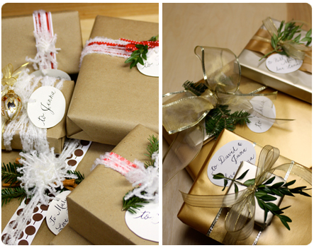 last minute holiday gift wrap ideas