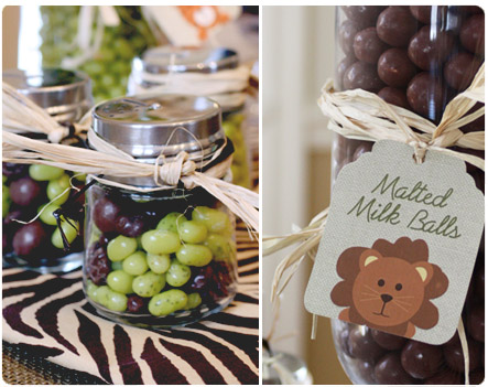 Safari Candy Buffet