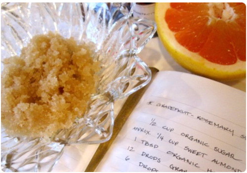 Homemade Sugar Scrub Face Scrub