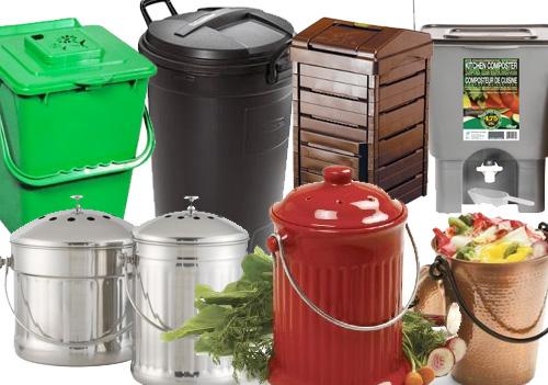 kitchen food pail kitchen compost bins