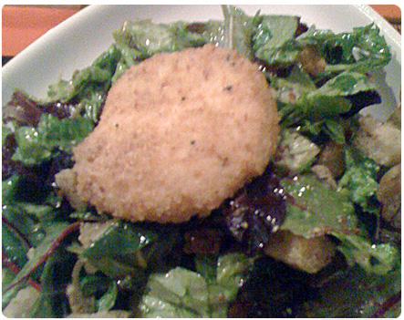 La Merenda Toasted Goat Cheese Salad