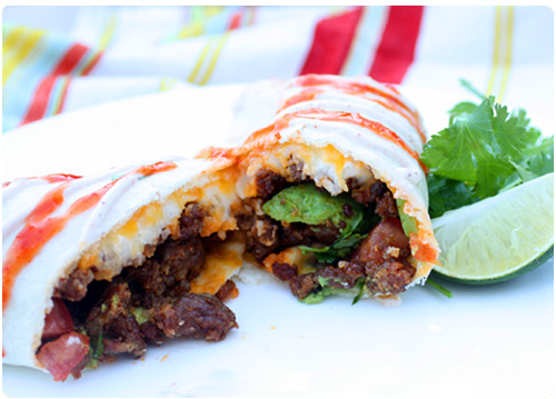 Chorizo & Potato Burrito