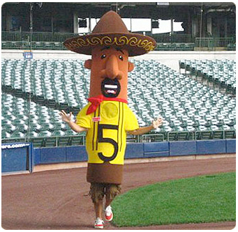 Racing Sausages Chorizo