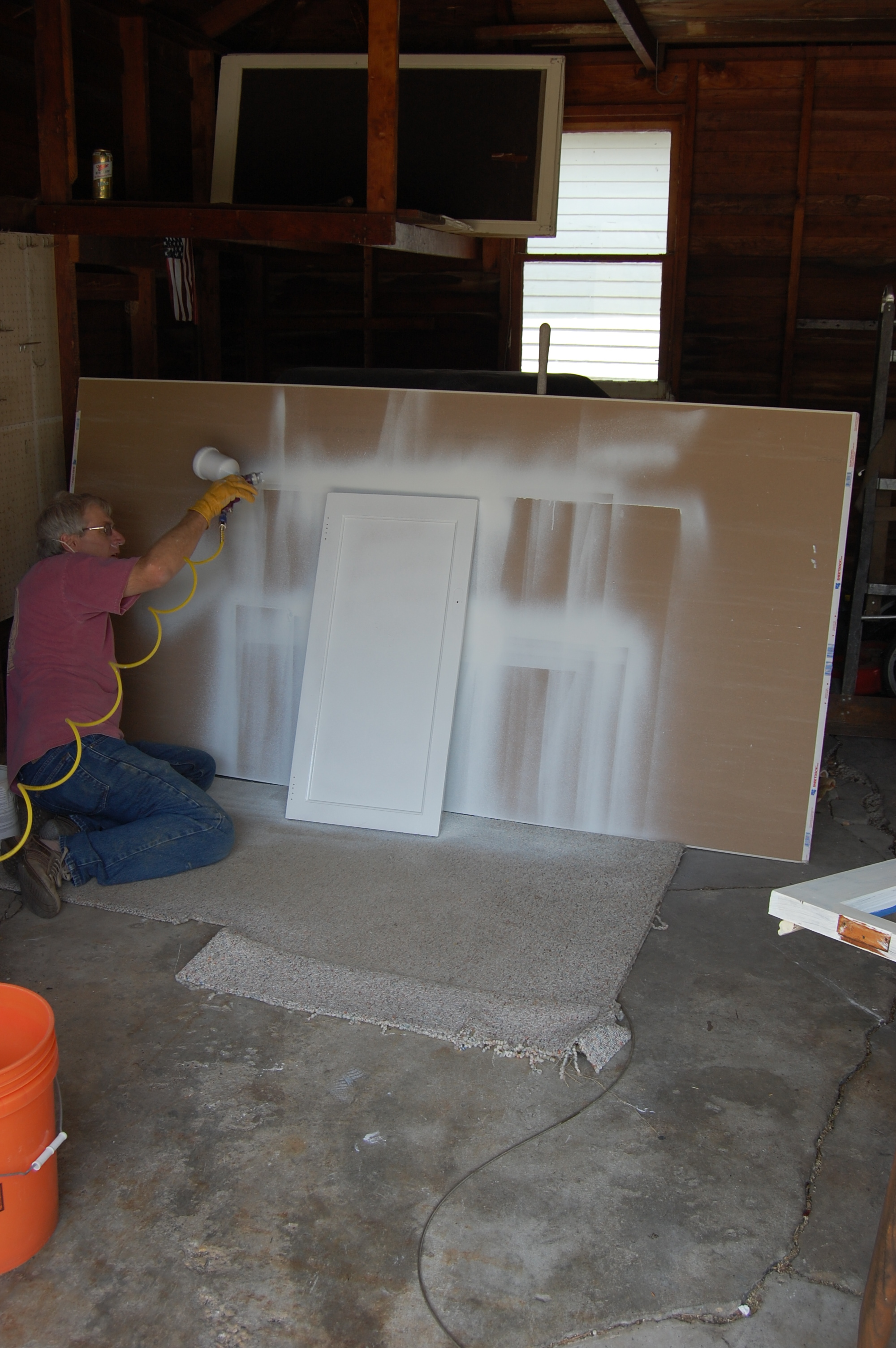Painting Kitchen Cabinets : Rooms : Home  Garden Television