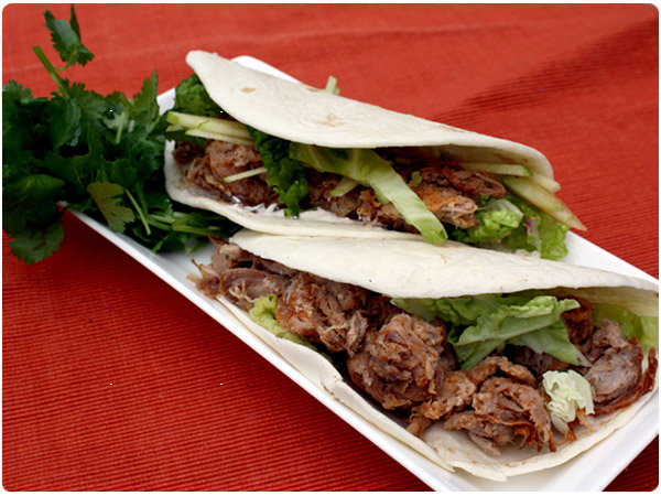 Latin Night: Slow Cooked Pork Tacos |