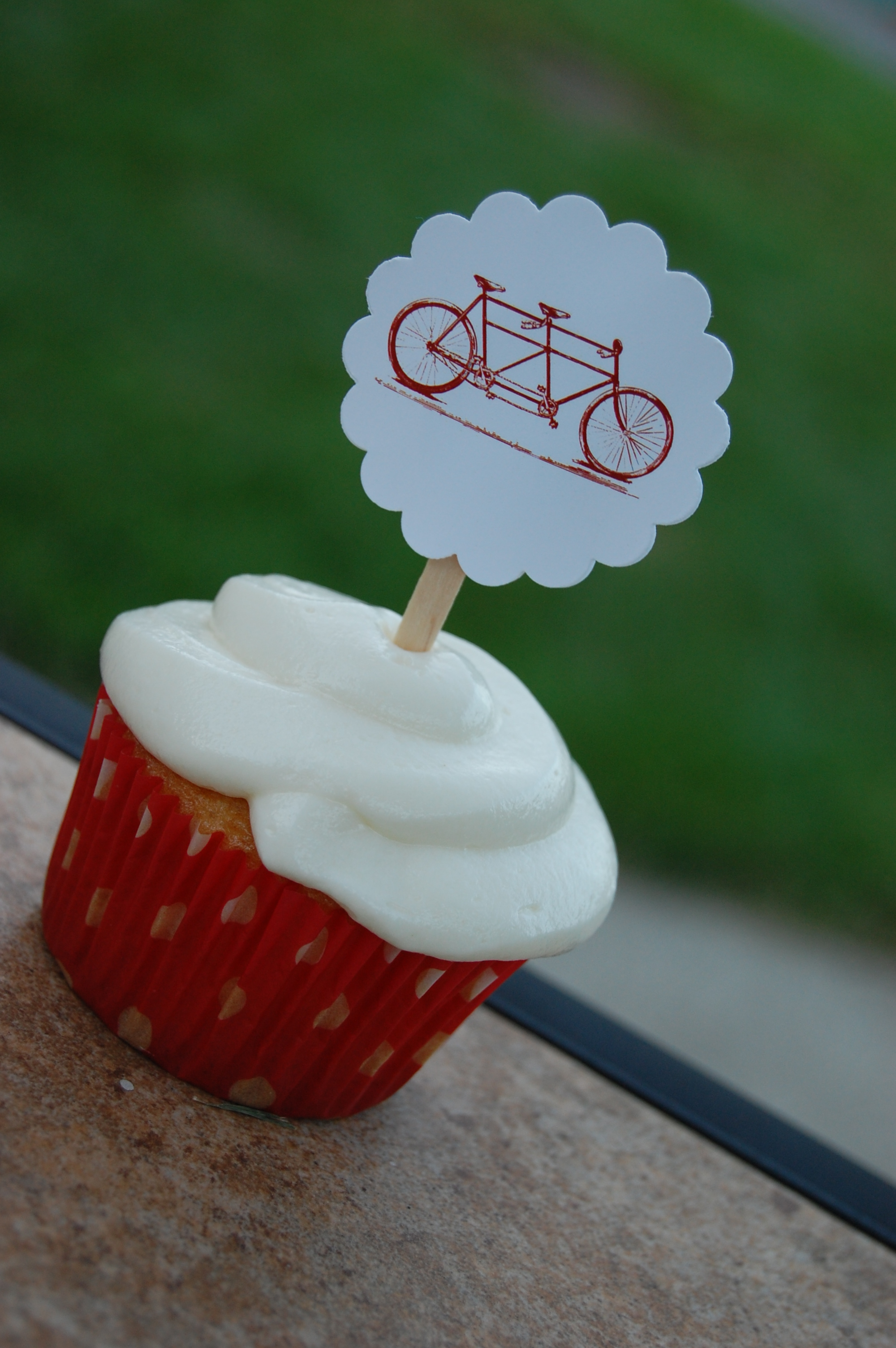 A Bicycle Built for Two Couple's Shower