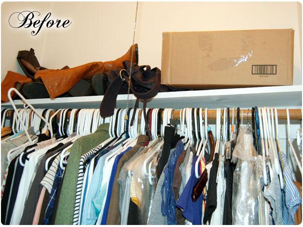 Organization Bedroom Closet