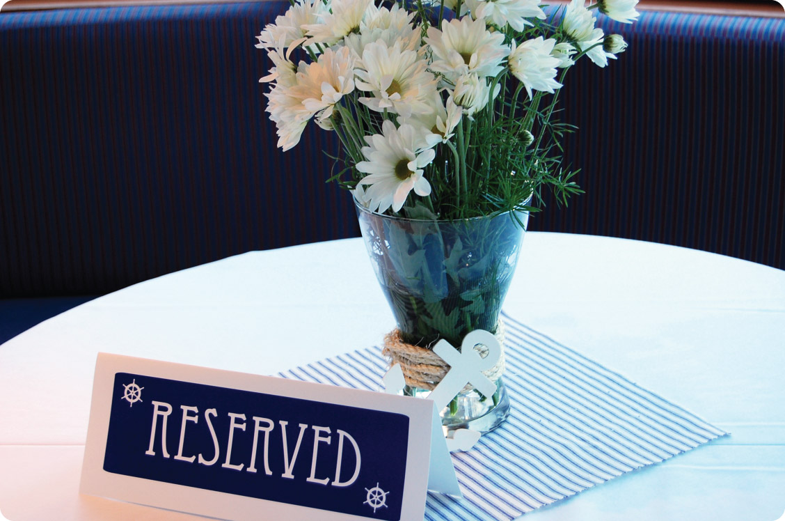 come sail away nautical rehearsal dinner