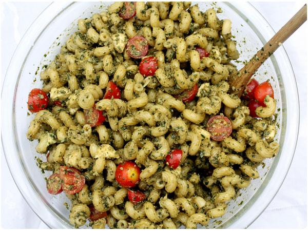 ... red pepper pesto pasta basil pesto pasta pesto caprese pasta salad