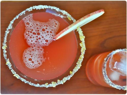 cranberry cider margarita