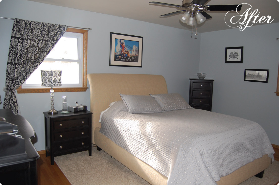 What a Difference Some Paint Makes: Master Bedroom Before & After |