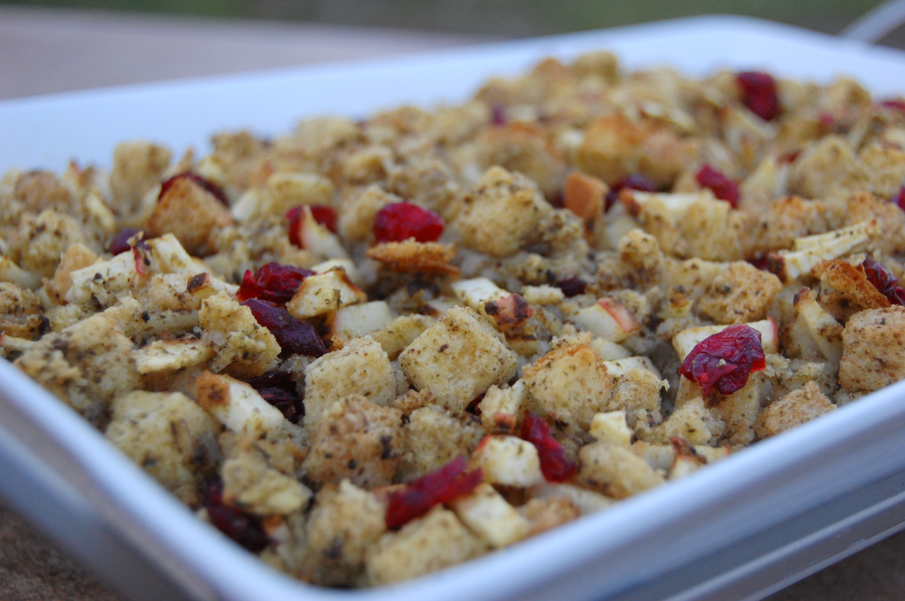 Apple and Cranberry Stuffing |
