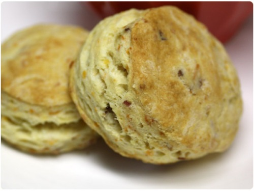 Bacon Cheddar Buttermilk Biscuits