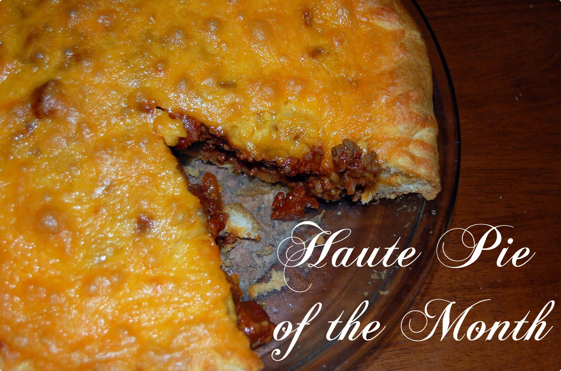 Haute Pie} Chorizo Cheeseburger Pie |
