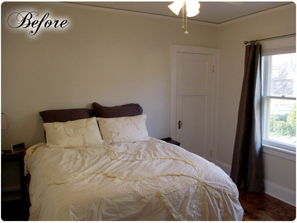 Budget friendly bedroom makeover for Bedroom makeover