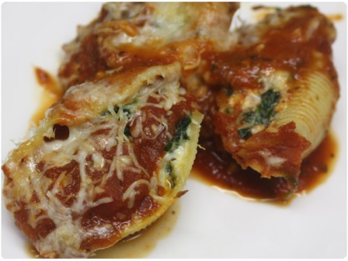 Stuffed Pasta Shell recipe