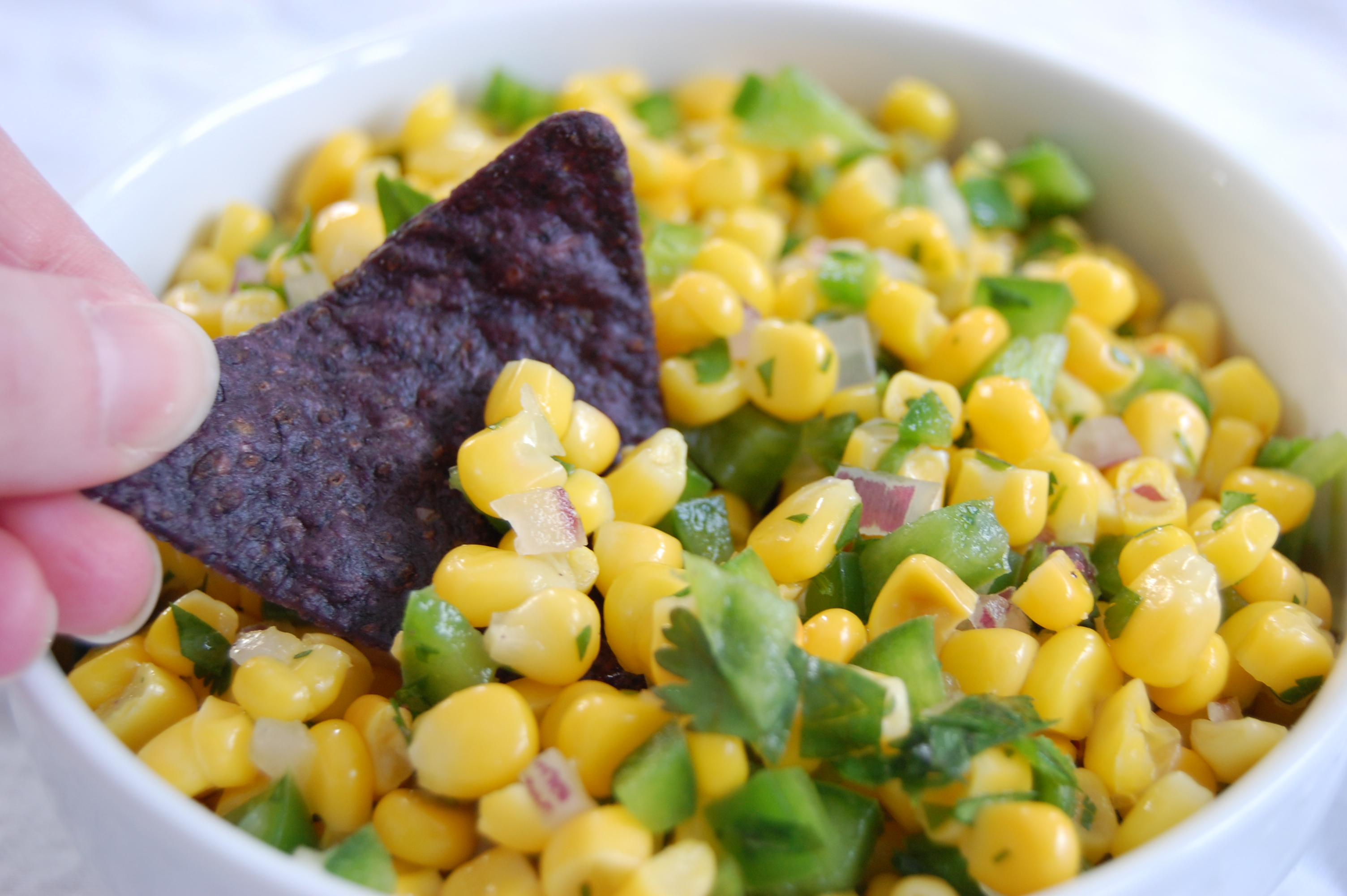 corn salsa chip