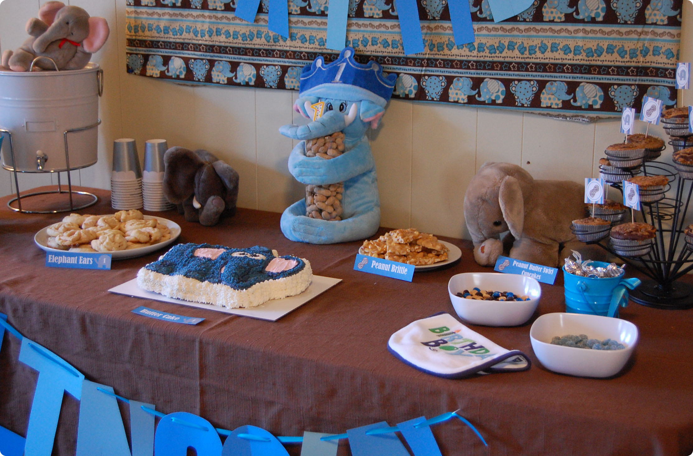 Little Peanut Party A First Birthday