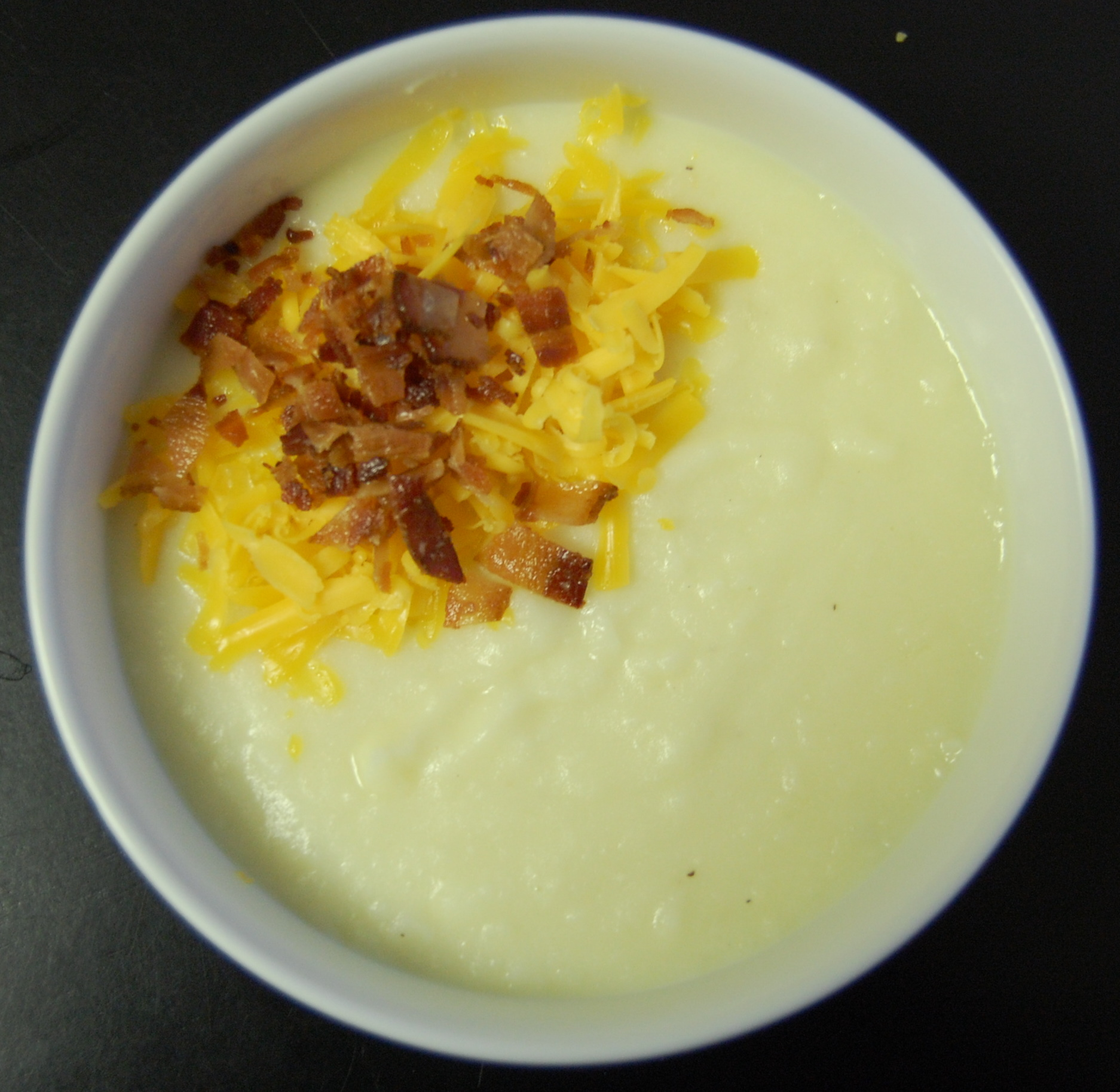 Creamy Potato Soup With Bacon Vinaigrette Recipes — Dishmaps