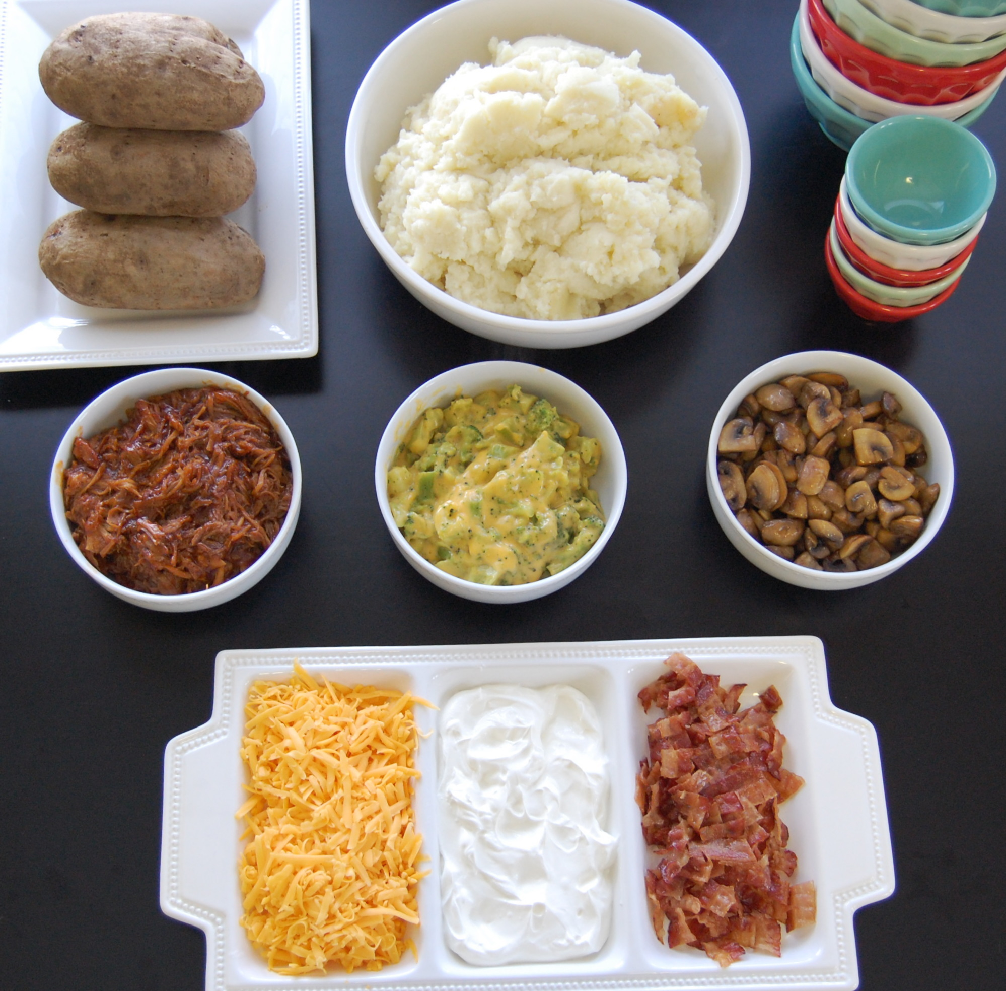 Mashed Potato Bar |