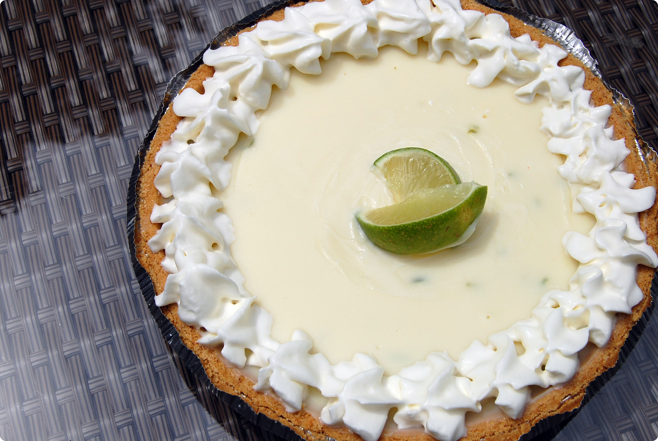 {Haute Pie} White Chocolate Key Lime