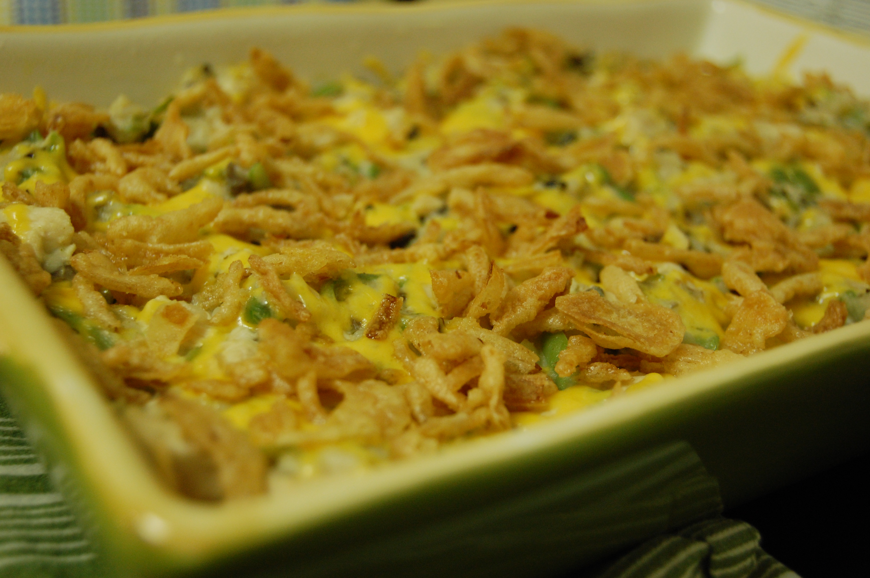 Chicken and Green Bean Casserole |