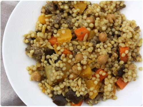 moroccan acorn squash salad