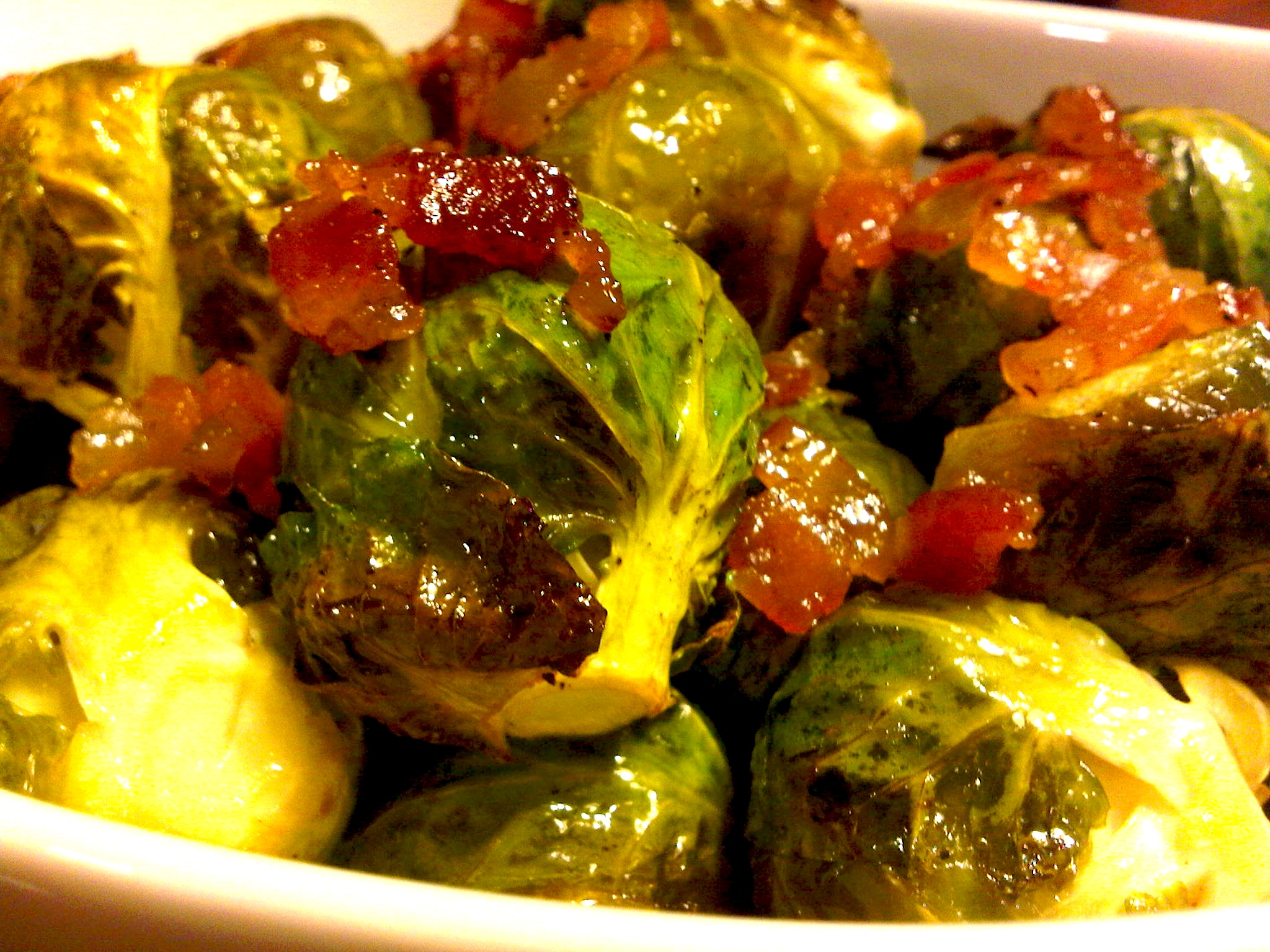 Brussel Sprout Recipes With Bacon Maple Syrup