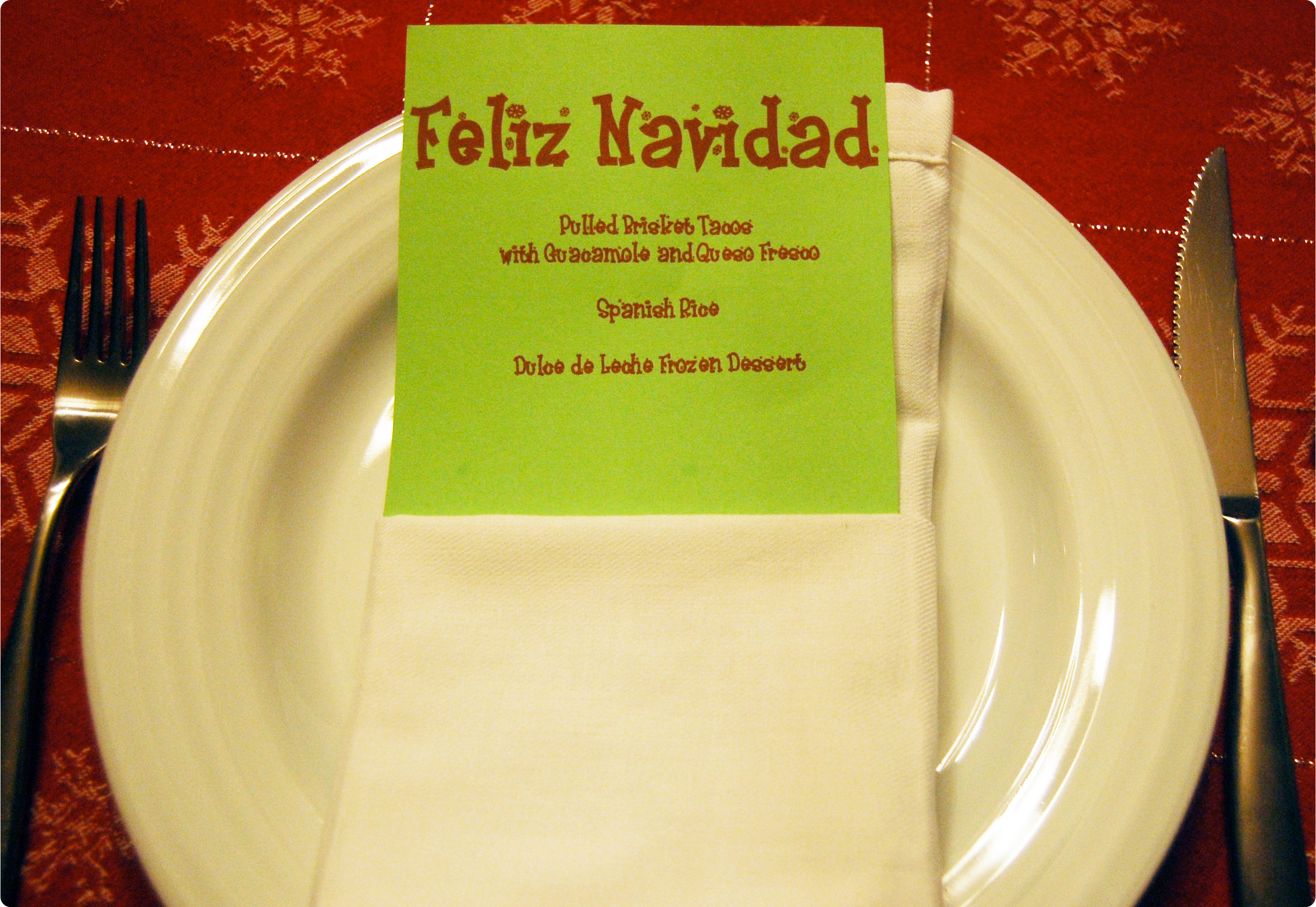 Mexican christmas food - To