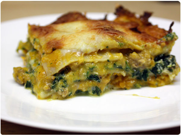 {Make Ahead Meal} Butternut Squash Lasagna