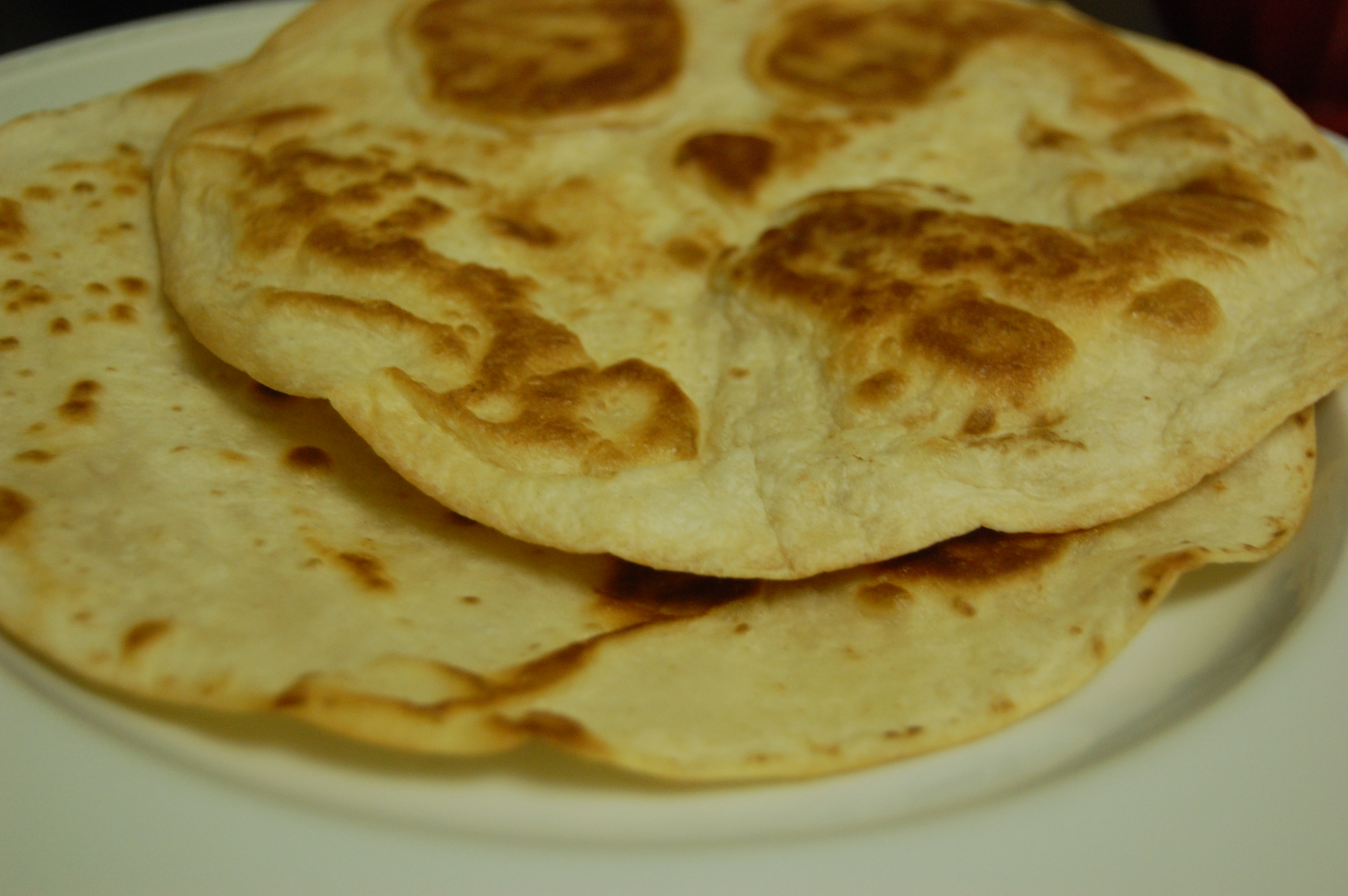how to make tostada shells with flour tortillas