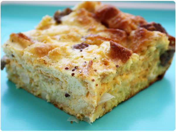 Egg Strata Fascinating With Sausage Egg Strata Photo