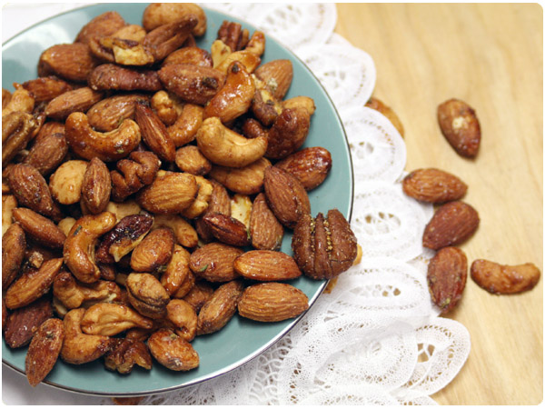Chipotle Rosemary Spiced Nuts