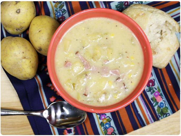 potato-ham-chowder