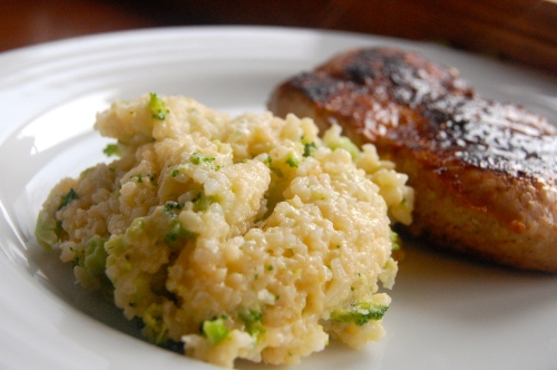 Broccoli and Cheese Rice