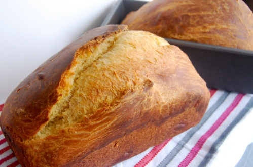 Homemade Brioche Loaves