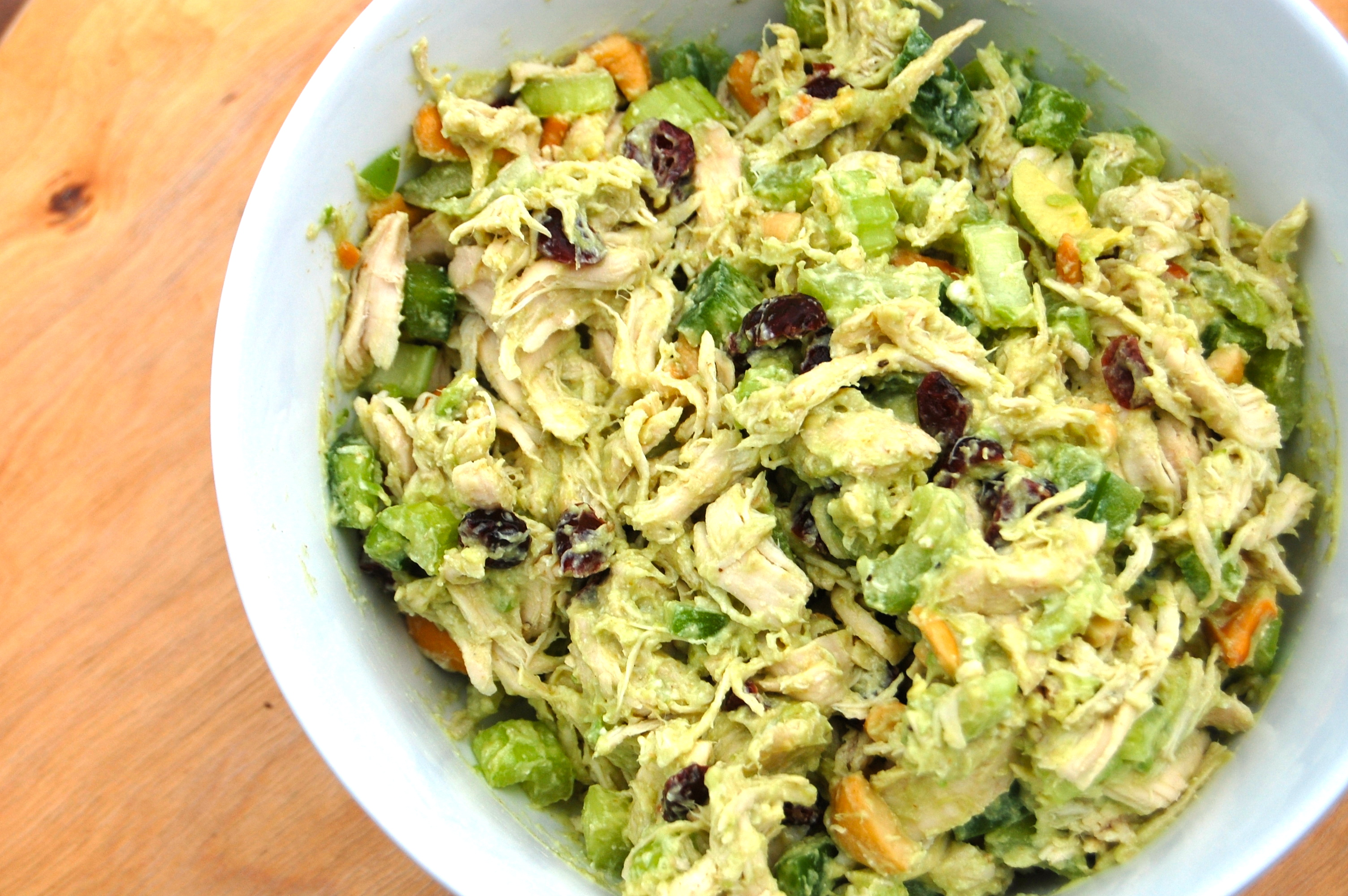 Avocado Cashew Chicken Salad |