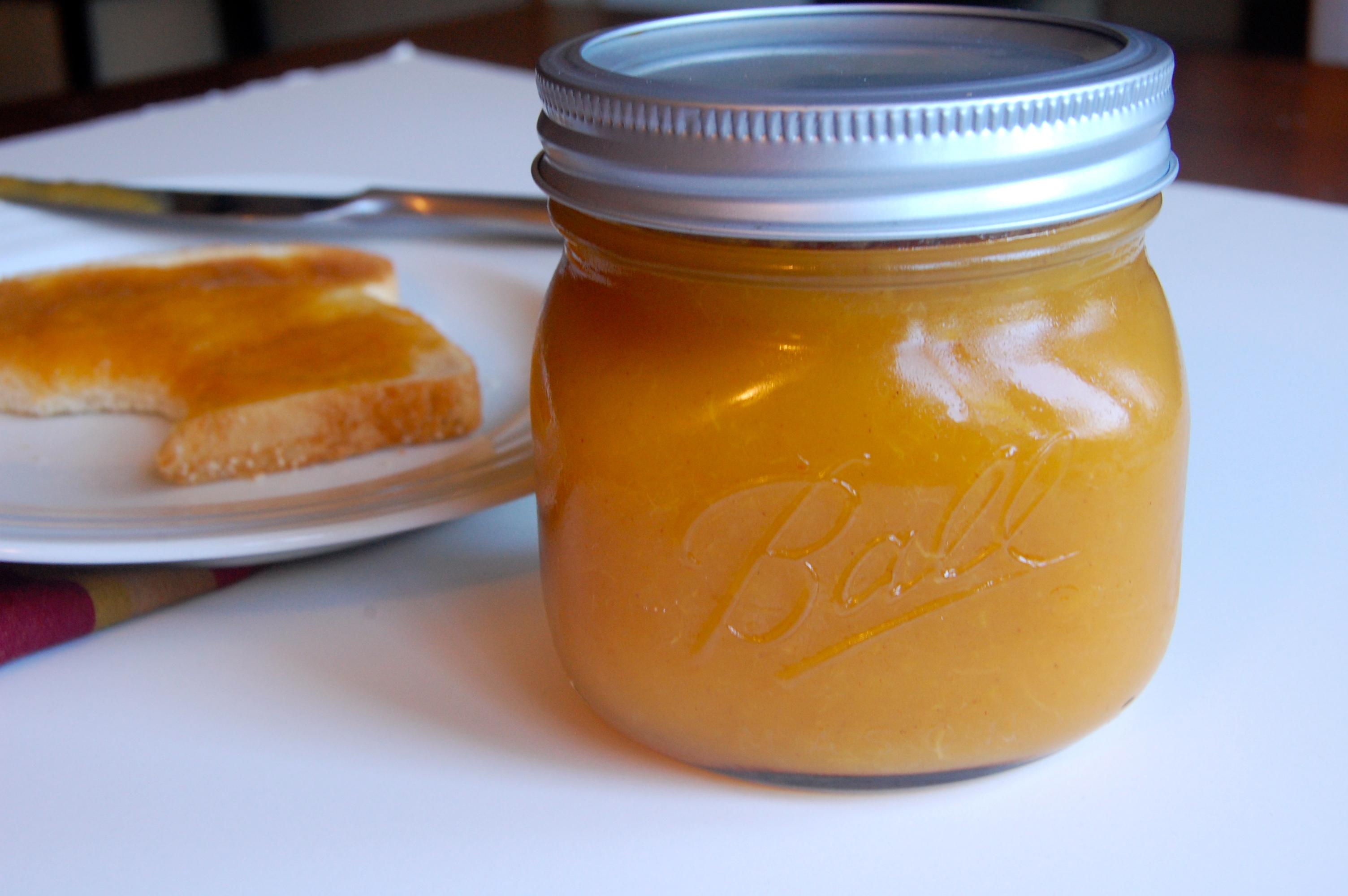 Almond Peach Butter |