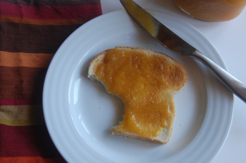 Almond Peach Butter via Haute Apple Pie