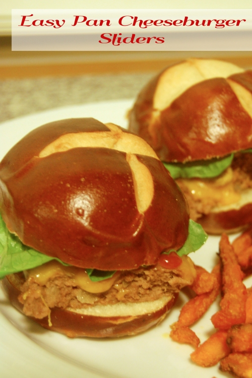Easy Pan Cheeseburger Sliders |