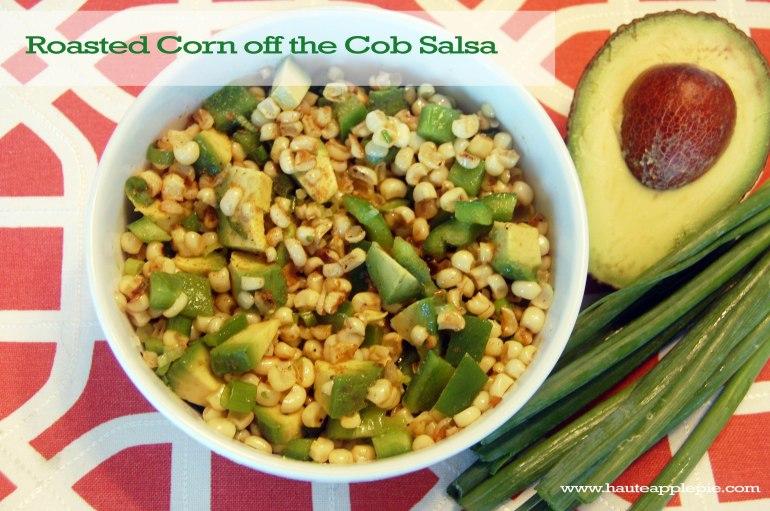 Roasted Corn off the Cob Salsa