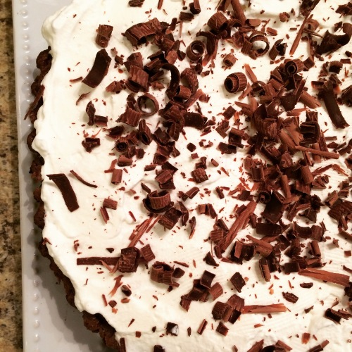 Mississippi Mud Pie whole