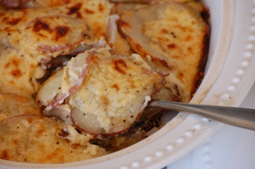 smoked gouda scalloped potatoes